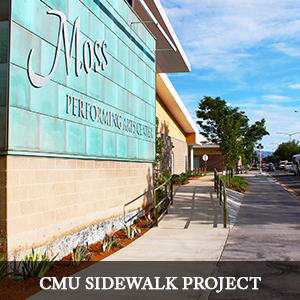 CMU Sidewalk Grand Junction